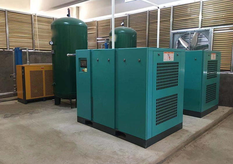 空压机厂家:螺杆式压缩机空压机安装规定